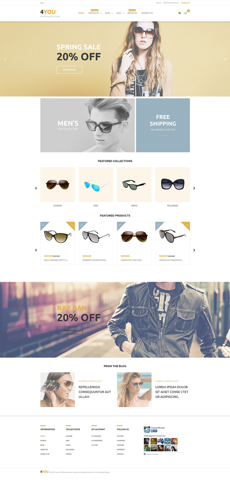 4You Shopify Theme New Screenshots BIG