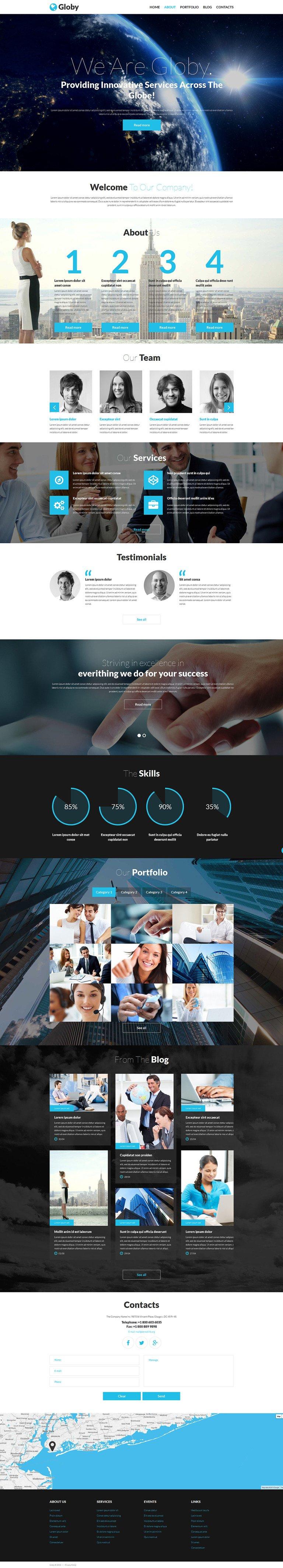 Your Business Joomla Template New Screenshots BIG
