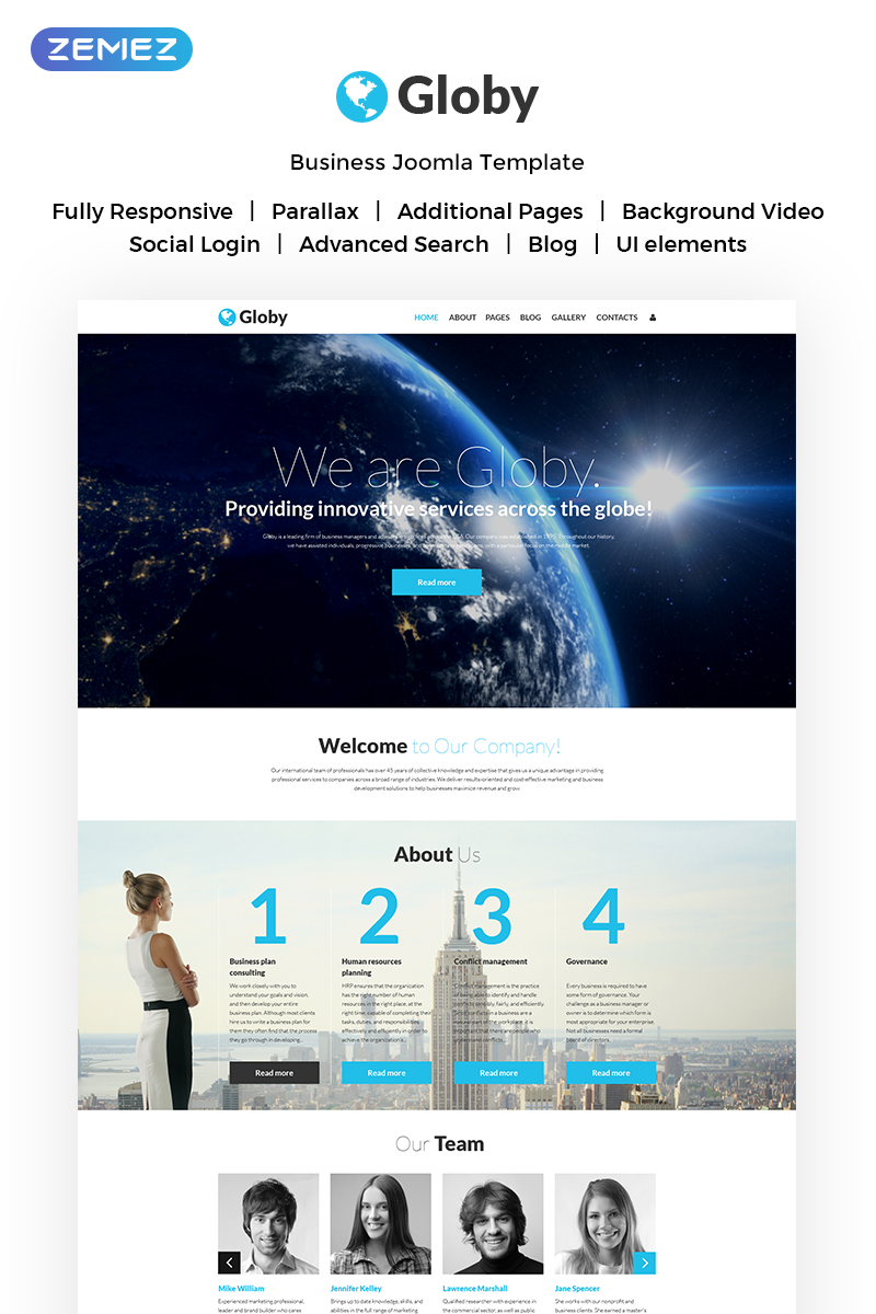 Your business joomla template 53528 your business joomla template new screenshots big zoom in live demo friedricerecipe Image collections