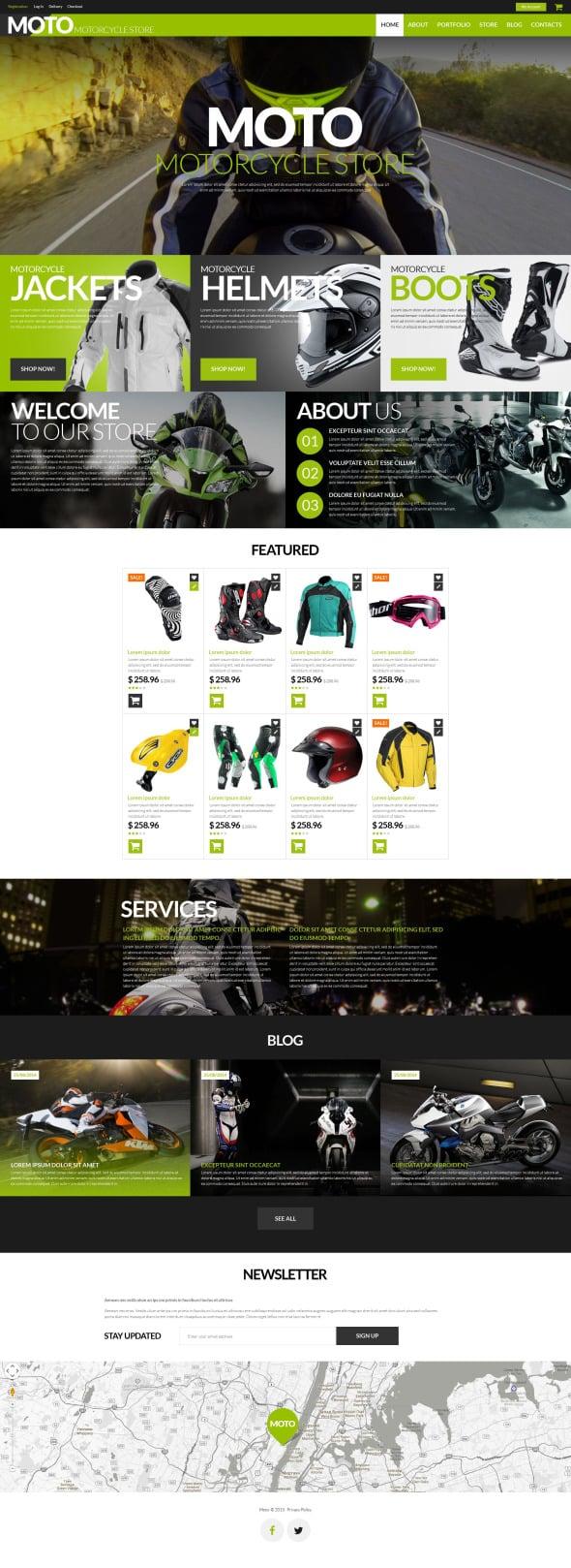Moto Store WooCommerce Theme