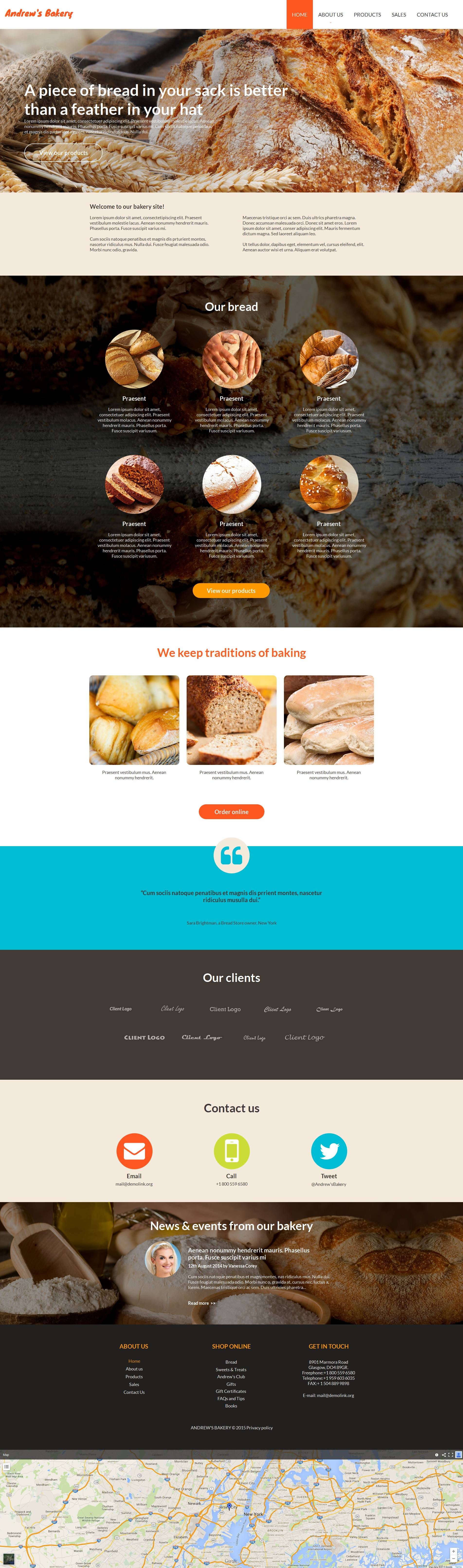 The Andrew's Bakery Products Moto CMS HTML Design 53616, one of the best Moto CMS HTML templates of its kind (food & drink), also known as Andrew's Bakery products Moto CMS HTML template, chocolate Moto CMS HTML template, cake Moto CMS HTML template, biscuit Moto CMS HTML template, filling Moto CMS HTML template, tasty Moto CMS HTML template, delicious Moto CMS HTML template, wedding Moto CMS HTML template, celebration Moto CMS HTML template, birthday Moto CMS HTML template, fruits Moto CMS HTML template, sweets Moto CMS HTML template, cookies Moto CMS HTML template, specials Moto CMS HTML template, receipts Moto CMS HTML template, pastry Moto CMS HTML template, fancy Moto CMS HTML template, tarts Moto CMS HTML template, custard Moto CMS HTML template, cream Moto CMS HTML template, cookery Moto CMS HTML template, experts Moto CMS HTML template, masters Moto CMS HTML template, services Moto CMS HTML template, order Moto CMS HTML template, quotes Moto CMS HTML template, delivery Moto CMS HTML template, staff and related with Andrew's Bakery products, chocolate, cake, biscuit, filling, tasty, delicious, wedding, celebration, birthday, fruits, sweets, cookies, specials, receipts, pastry, fancy, tarts, custard, cream, cookery, experts, masters, services, order, quotes, delivery, staff, etc.