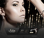 Jewelry Moto CMS HTML  Template 53622