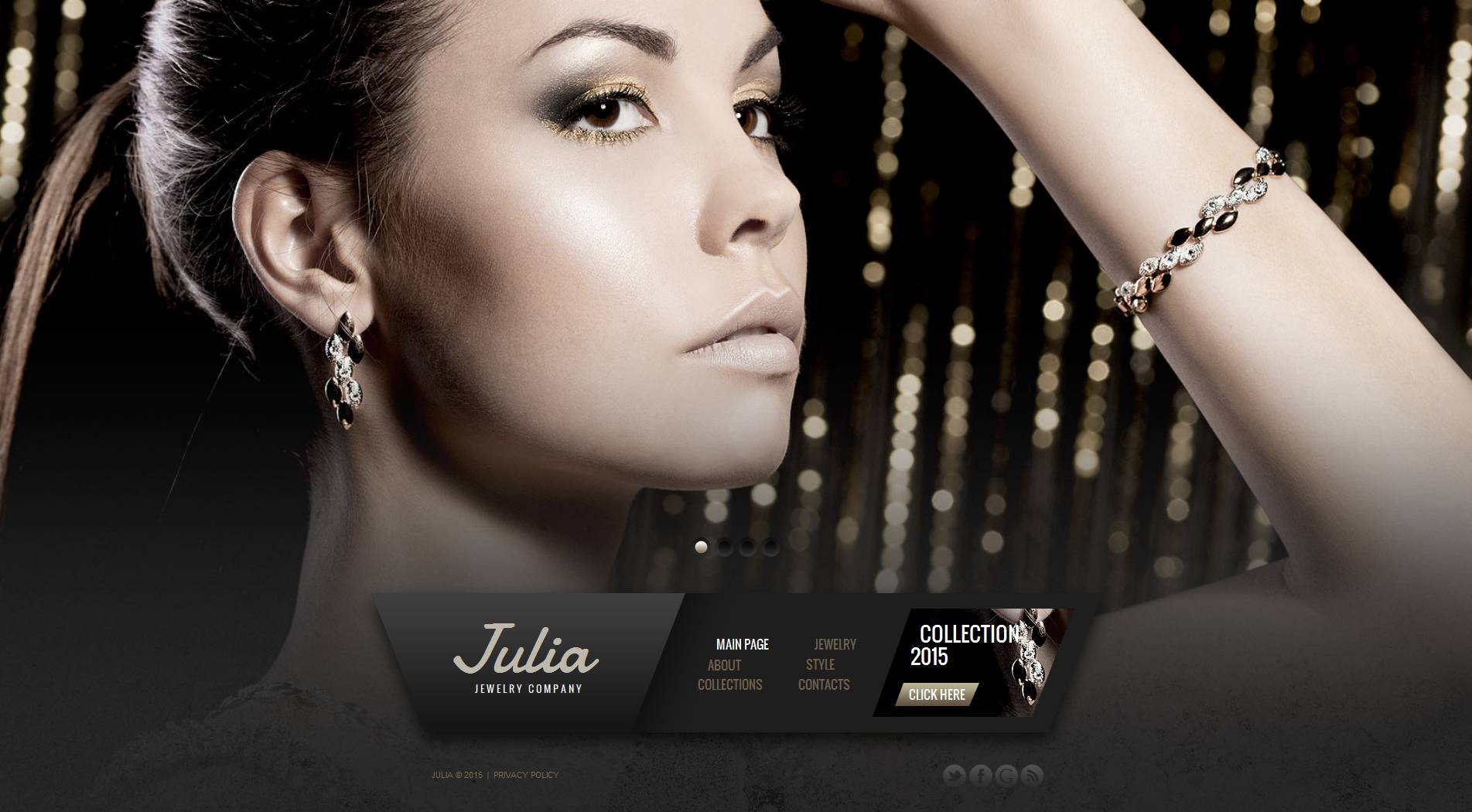 The Julia Jewelry Company Moto CMS HTML Design 53622, one of the best Moto CMS HTML templates of its kind (jewelry, most popular), also known as Julia jewelry company Moto CMS HTML template, brand Moto CMS HTML template, collections online store Moto CMS HTML template, jewels Moto CMS HTML template, gold Moto CMS HTML template, silver Moto CMS HTML template, golden ring Moto CMS HTML template, rings Moto CMS HTML template, watch Moto CMS HTML template, watches store Moto CMS HTML template, souvenir Moto CMS HTML template, present and related with Julia jewelry company, brand, collections online store, jewels, gold, silver, golden ring, rings, watch, watches store, souvenir, present, etc.