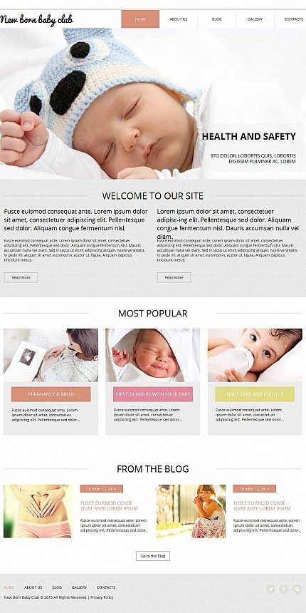 ADOBE Photoshop Template 53623 Home Page Screenshot