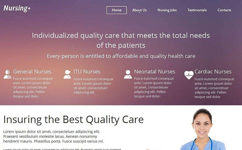 Moto CMS HTML Vorlage für Medizin  New Screenshots BIG