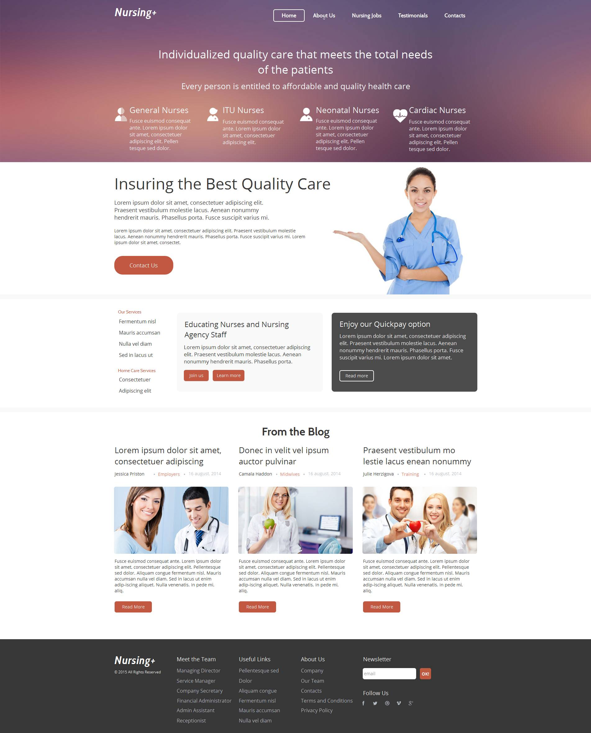 The Nursing Agency Moto CMS HTML Design 53626, one of the best Moto CMS HTML templates of its kind (medical), also known as nursing agency Moto CMS HTML template, services Moto CMS HTML template, providing Moto CMS HTML template, certified caregivers Moto CMS HTML template, clients Moto CMS HTML template, looking care and related with nursing agency, services, providing, certified caregivers, clients, looking care, etc.