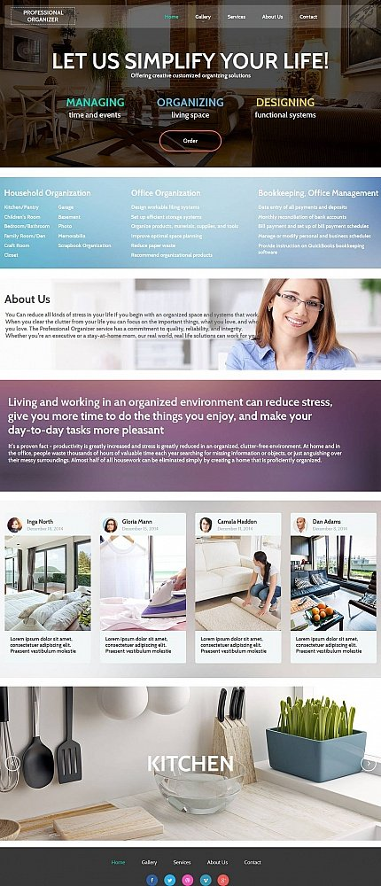 ADOBE Photoshop Template 53627 Home Page Screenshot
