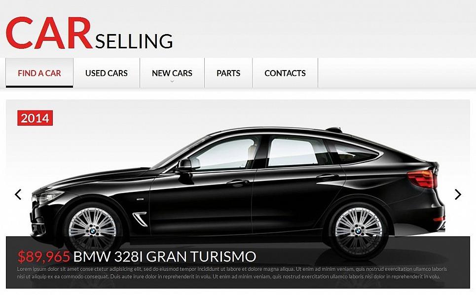 Luxusní Moto CMS HTML šablona na téma Půjčovna aut New Screenshots BIG