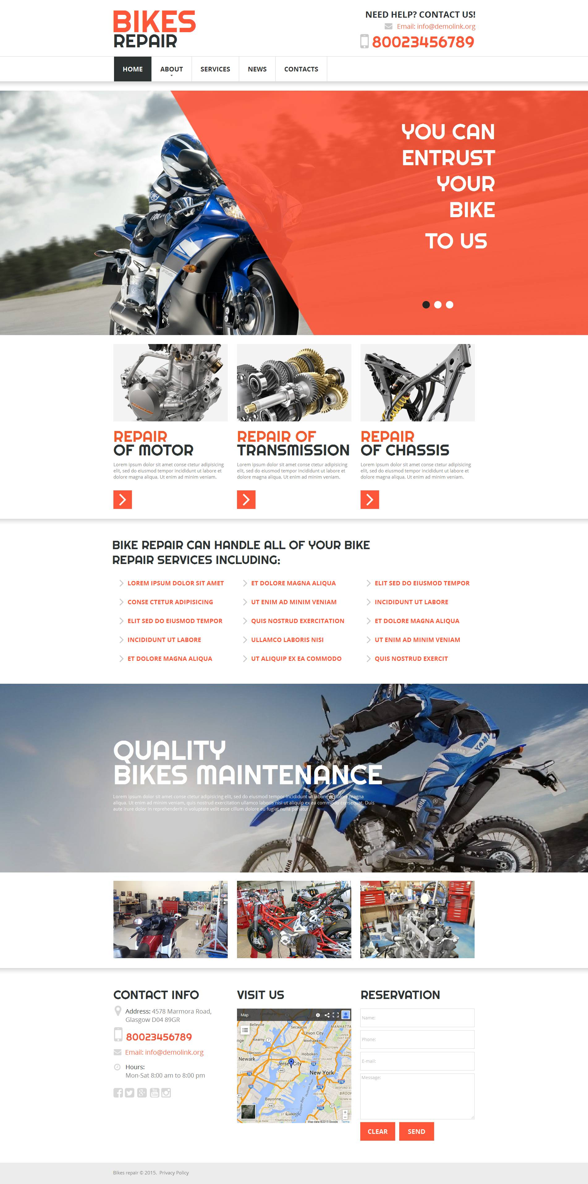 The Bikes Repair Moto Moto CMS HTML Design 53636, one of the best Moto CMS HTML templates of its kind (cars), also known as Bikes Repair moto Moto CMS HTML template, repair Moto CMS HTML template, recovery Moto CMS HTML template, repairs Moto CMS HTML template, automobile Moto CMS HTML template, auto repair Moto CMS HTML template, maintenance Moto CMS HTML template, service care Moto CMS HTML template, advice Moto CMS HTML template, station and related with Bikes Repair moto, repair, recovery, repairs, automobile, auto repair, maintenance, service care, advice, station, etc.