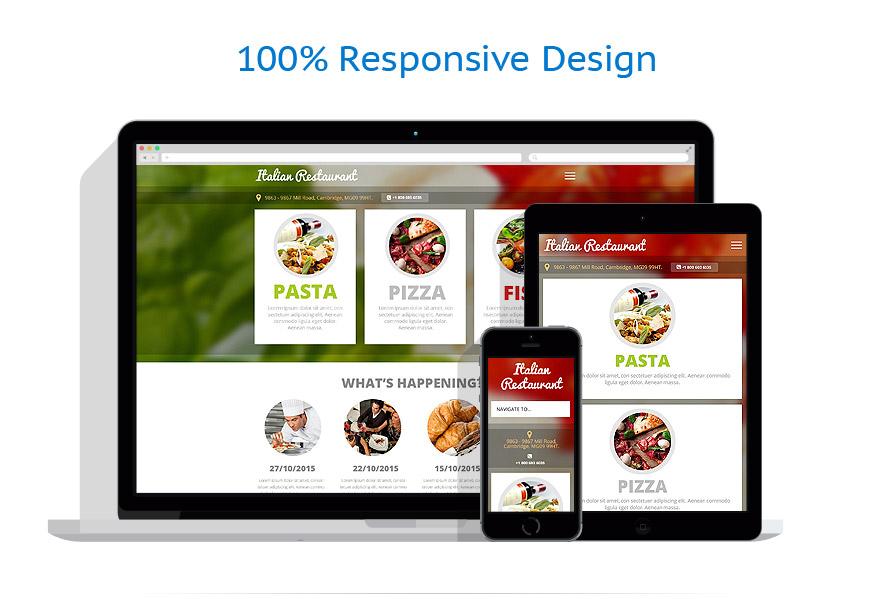 Modèles HTML5 Café et Restaurant #53639