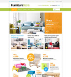 Furniture VirtueMart  Template 53640