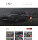 Cars Joomla  Template 53641