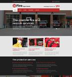 Security Website  Template 53642