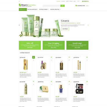 Preview image of Organic Products Store