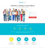 Education Landing Page  Template 53645