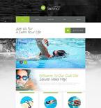 Sport Website  Template 53646
