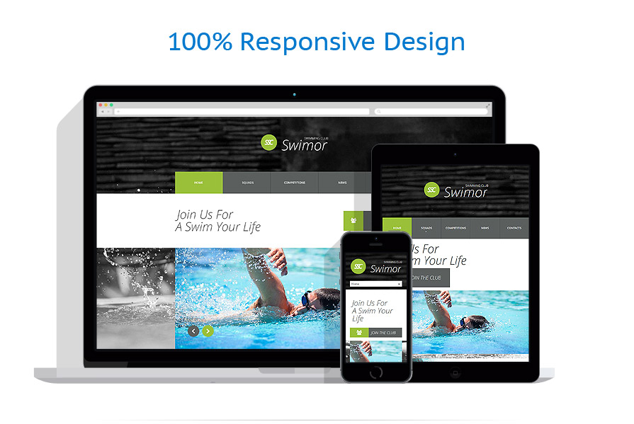Modèles HTML5 Sport #53646