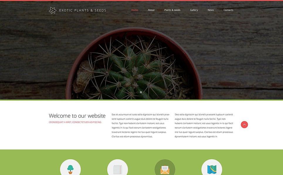 Reszponzív Kerttervezés  Weboldal sablon New Screenshots BIG