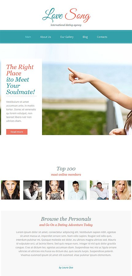 dating website solution Dating templates when you purchase the fully managed dating software, it will come with the same theme that you see on the demo check out some of the other themes.
