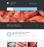 Food & Drink Website  Template 53651