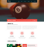 Sport Website  Template 53653