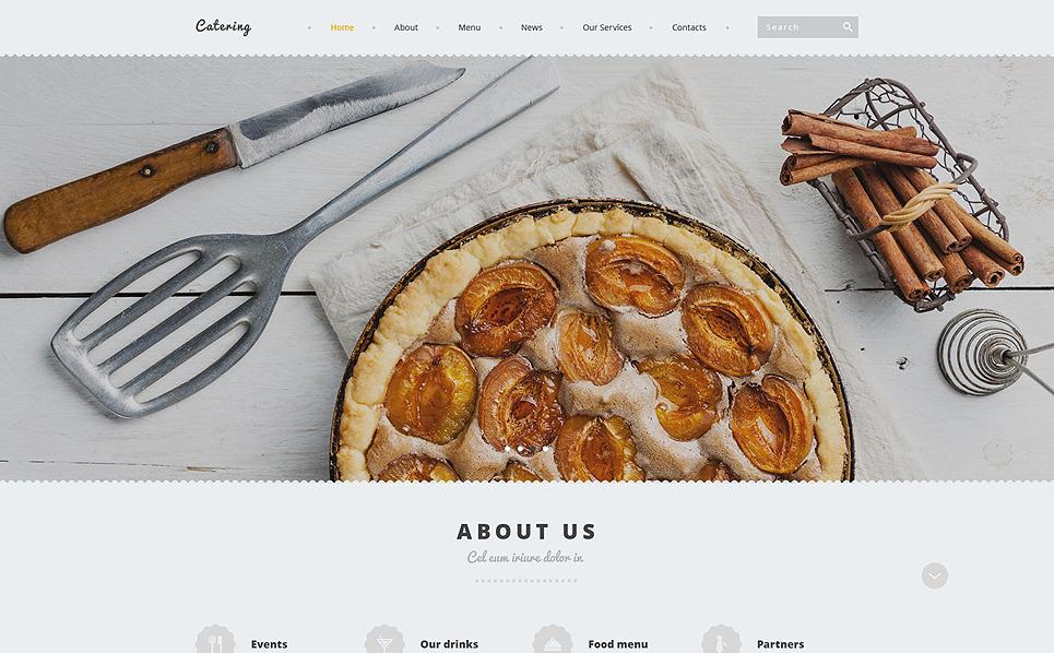 Responsive Joomla Template over Catering  New Screenshots BIG