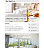 Hotels Joomla  Template 53665