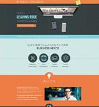 Communications Landing Page  Template 53666