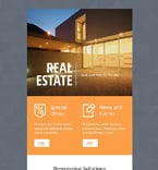 Real Estate Newsletter  Template 53671
