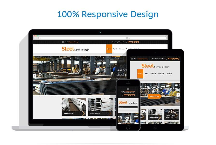 Modèles HTML5 Industriel #53672