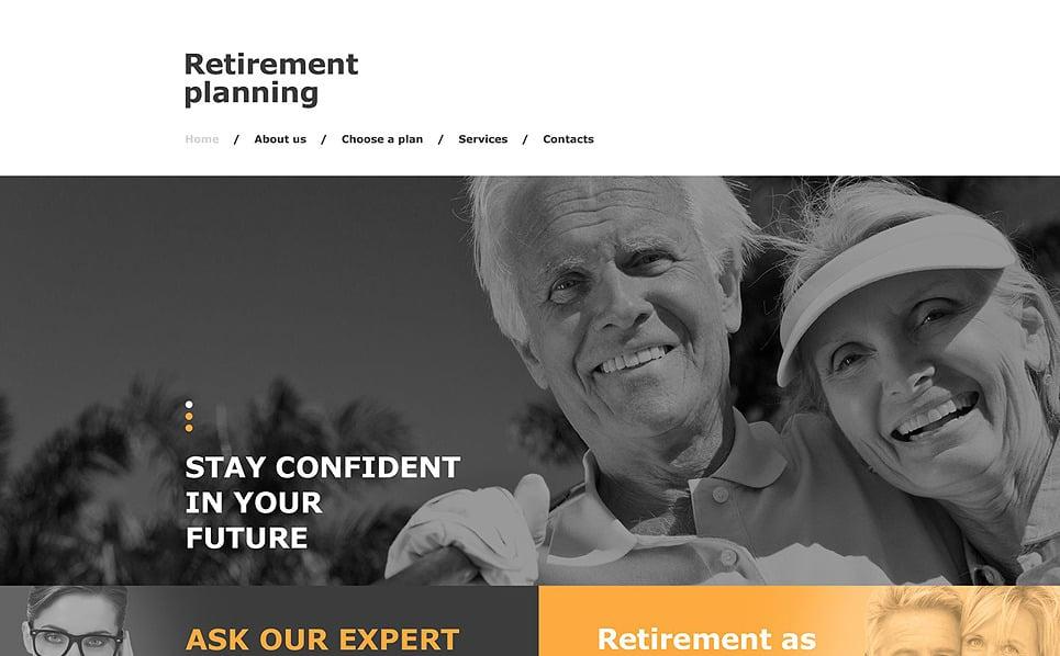 Muse шаблон на тему пенсійна програма New Screenshots BIG