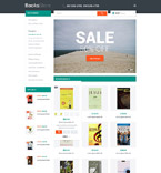 Books Magento Template 53675