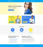Education WordPress Template 53676