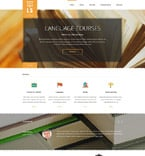 Education Website  Template 53682