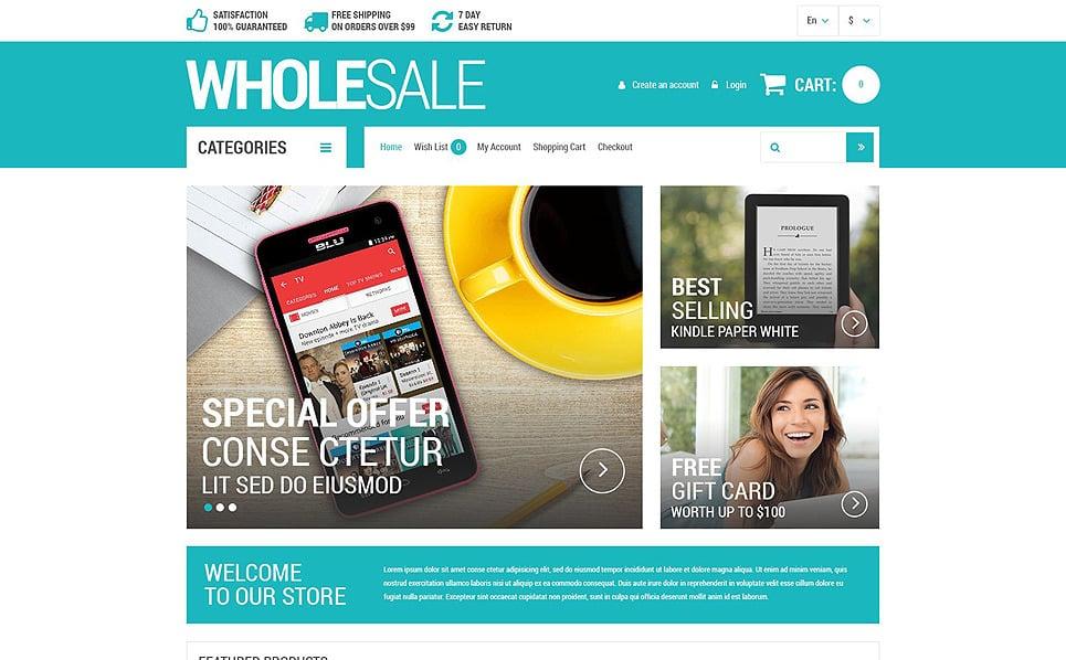 Responsive OpenCart Template over Groothandel Winkel New Screenshots BIG