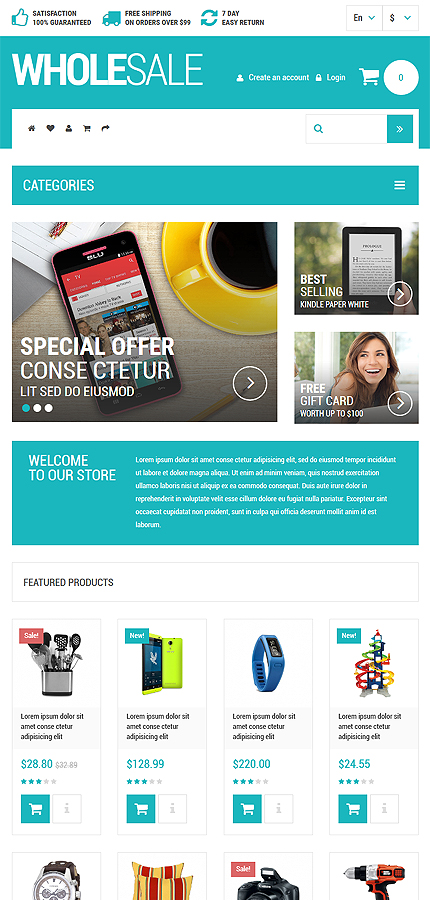 ADOBE Photoshop Template 53684 Home Page Screenshot