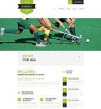 Sport Website  Template 53692