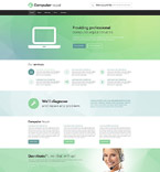 Computers Website  Template 53695