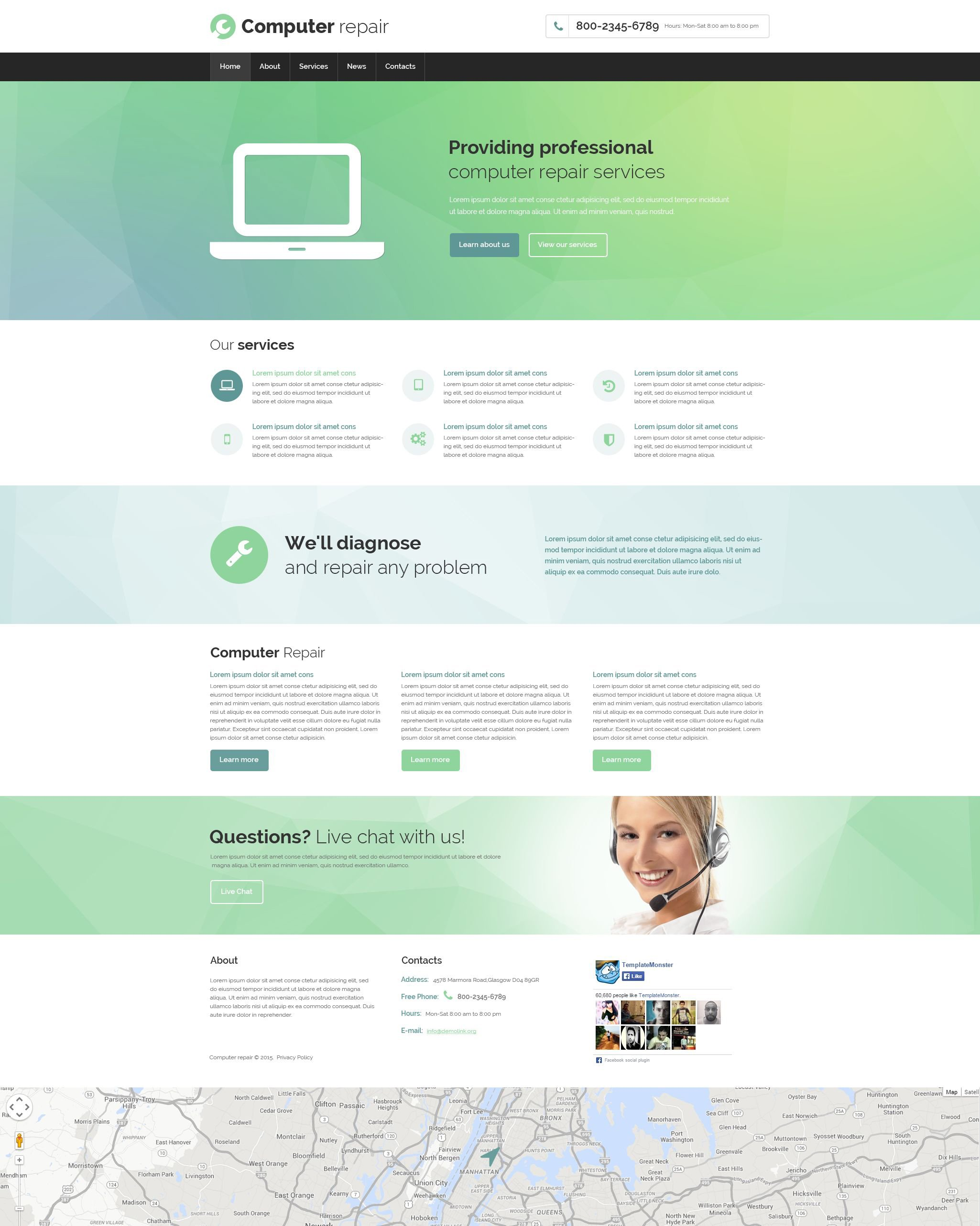 The Computer Repair Bootstrap Design 53695, one of the best website templates of its kind (computers, most popular), also known as computer repair website template, repair website template, computer website template, problems website template, help website template, monitor website template, mouse website template, prices website template, pricelist website template, data website template, recovery website template, electronics website template, osc website template, usb website template, OS/2 Windows Linux and related with computer repair, repair, computer, problems, help, monitor, mouse, prices, pricelist, data, recovery, electronics, osc, usb, OS/2 Windows Linux, etc.
