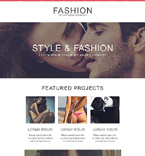 Fashion Newsletter  Template 53699