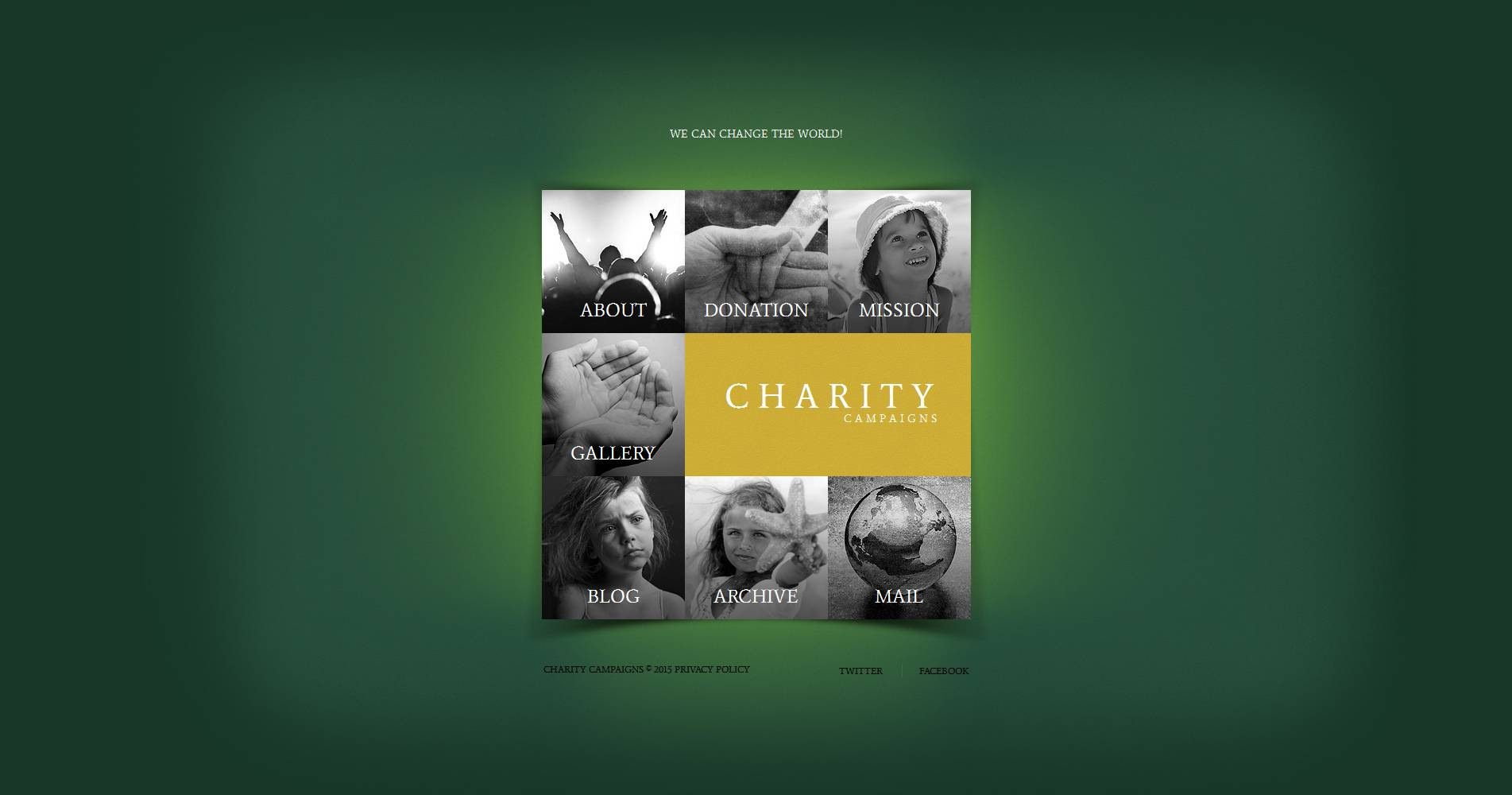 Child Charity Moto CMS HTML Template