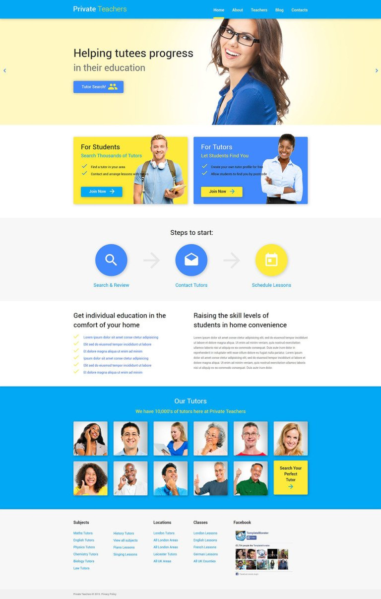 Education Help WordPress Theme New Screenshots BIG