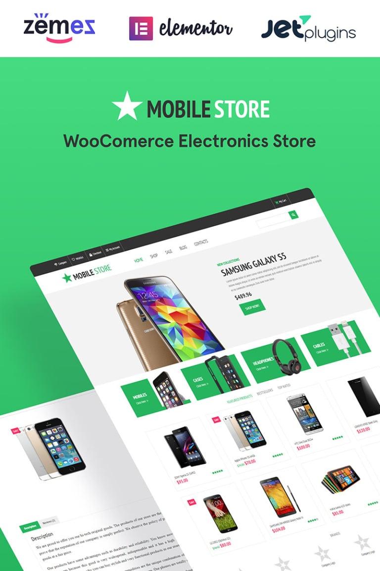 Electronics Store WooCommerce Theme New Screenshots BIG
