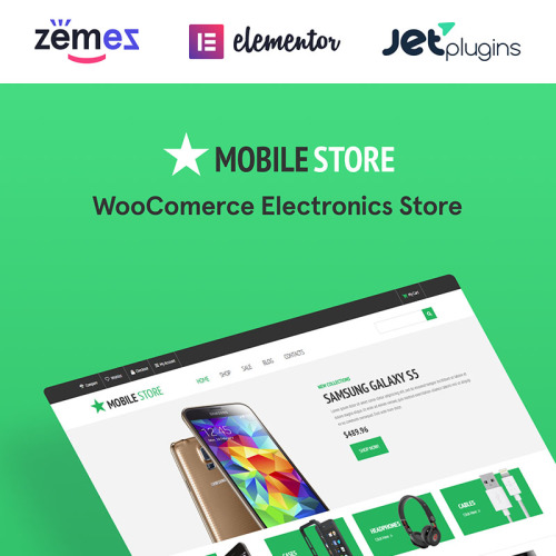 Mobile Store - WooCommerce Template based on Bootstrap