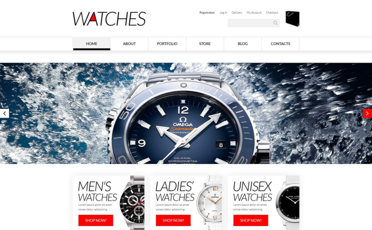 Elegant Watches WooCommerce Theme