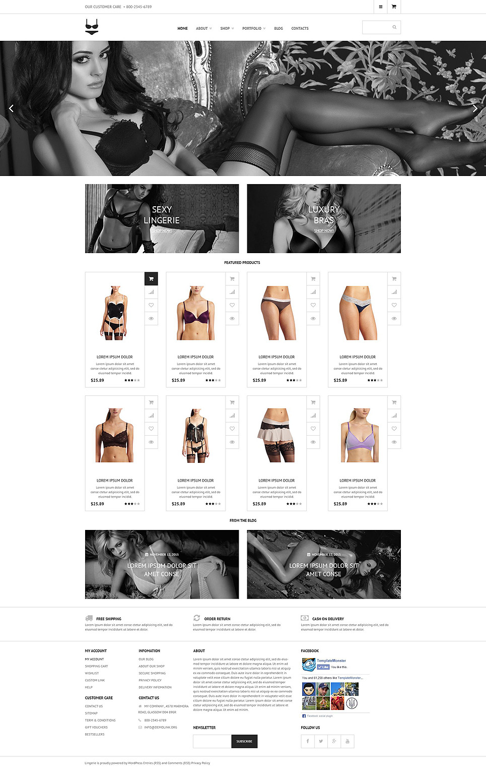 Intimate Apparel WooCommerce Theme New Screenshots BIG
