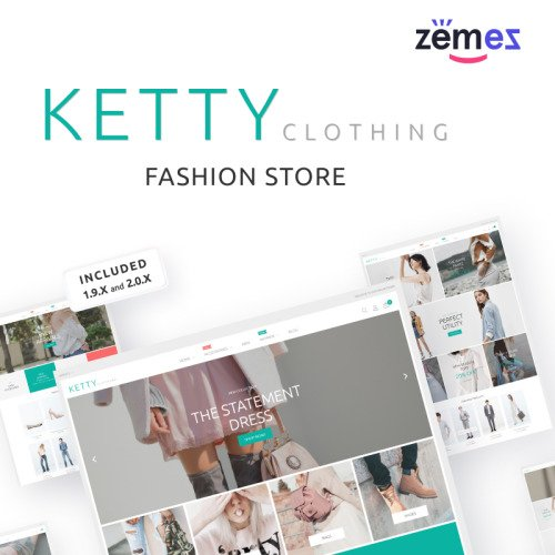Ketty - Magento Template based on Bootstrap
