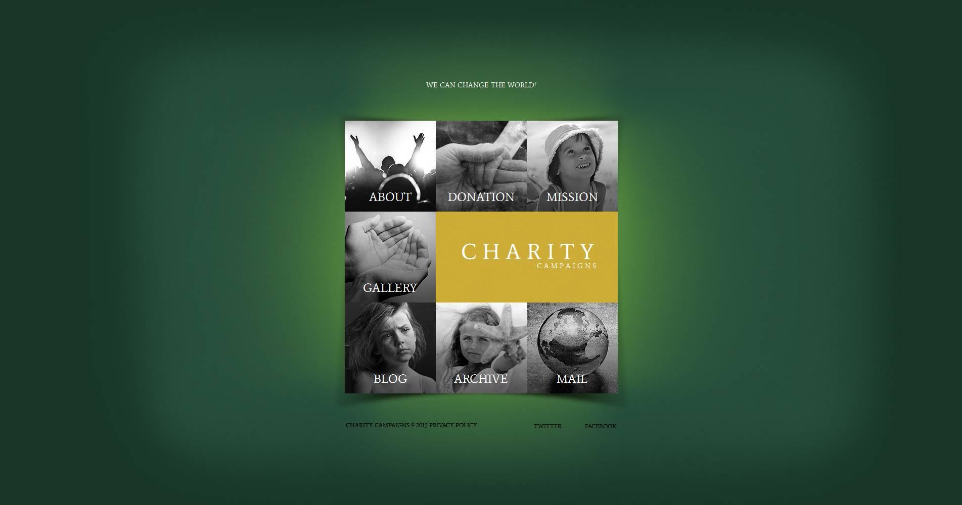 Modèle Moto CMS HTML Premium pour site de charité pour enfants #53612