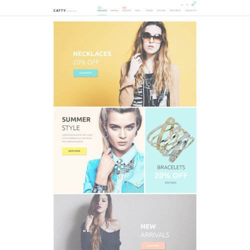 Catty  - Magento Template based on Bootstrap
