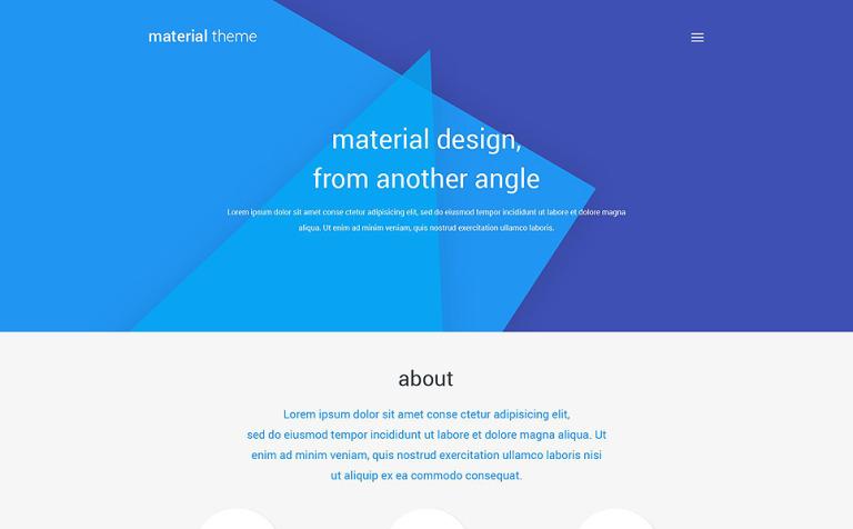 WordPress Theme #53677 für Designstudio